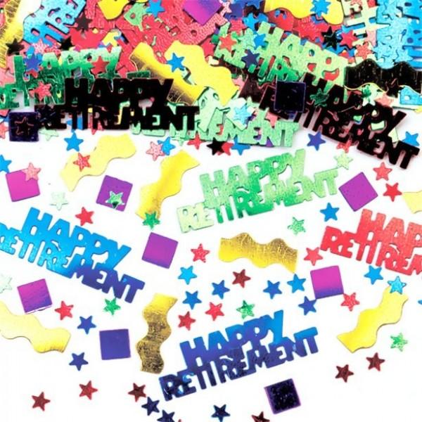 Happy Retirement sprinkle decoration 14g