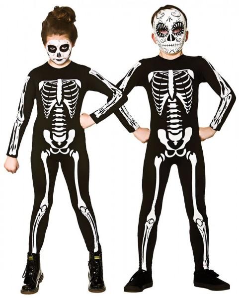 farblich passend klassische Schuhe erstklassige Qualität Knochen Kids Skelett Kostüm Für Kinder