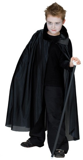 Long vampire cloak for children