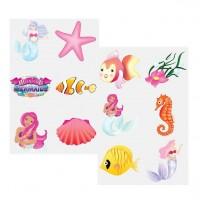 6 Meerjungfrauen Tattoos