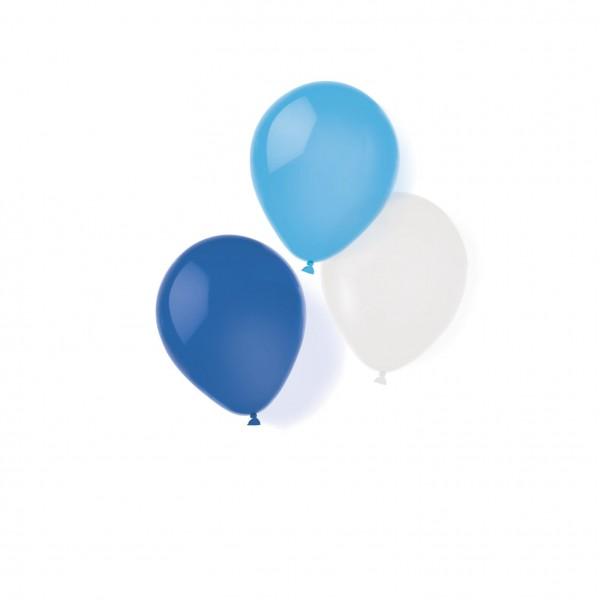 8 ballons célestes magiques 25,4 cm