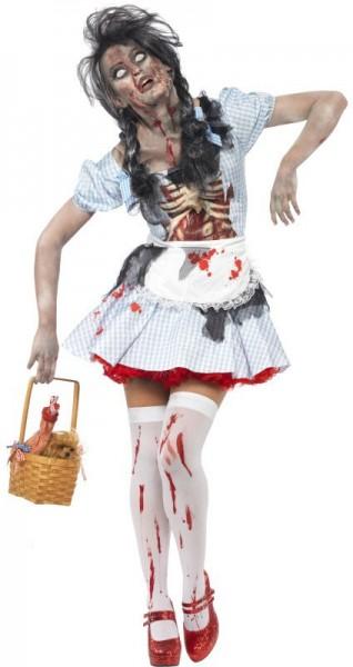 Blutiges Totkäppchen Horror-Kostüm