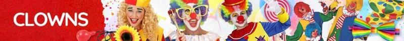 Clowns Kostüme & Zubehör