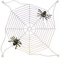 Leuchtendes Spinnennetz Mit Saugnäpfen 29cm