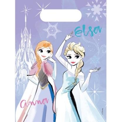 6 Sparkled Frozen Geschenktüten