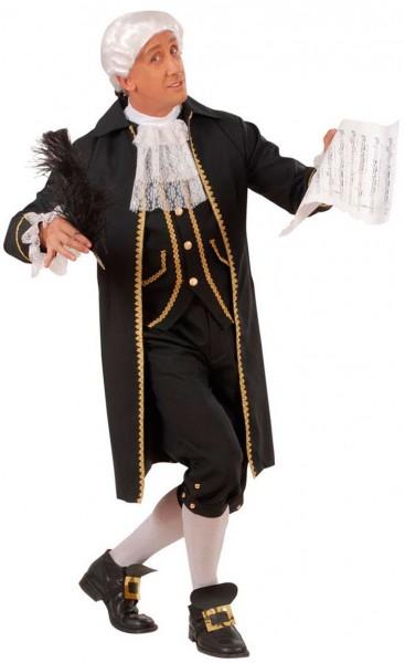 Barock Komponist Kostüm Für Herren