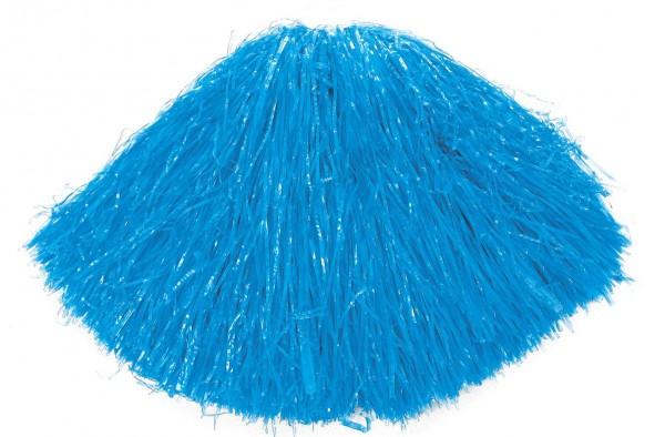 Wuscheliger Pompon In Blau