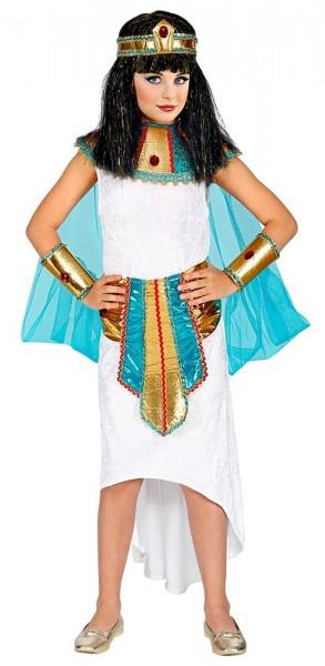 Ägyptische Göttin Kostüm für Mädchen