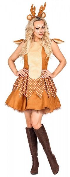 Rendier Stardancer dames kostuum