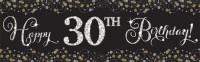 Golden Age Birthday Banner 1,65m x 50,8cm