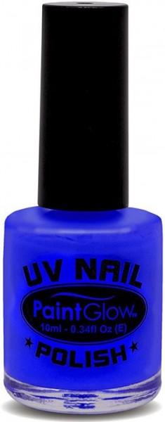 Neon-Blauer UV Nagellack
