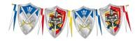 Wimpelkette Ritter Wappen 6m