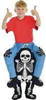 Huckepack Skelett Skitty Kinderkostüm