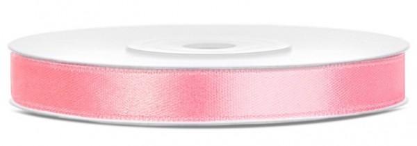 25m satin ribbon London soft pink