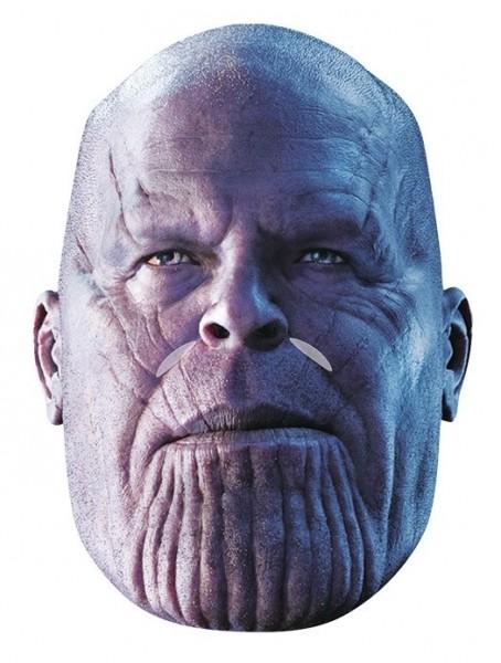Thanos Infinity War Maske aus Pappe