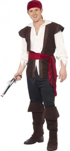 Seeräuber Pirat Luca Herrenkostüm