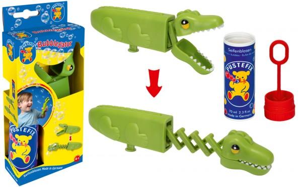 Seifenblasen Krokodil