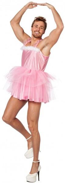 Witziges Ballerina Herrenkostüm