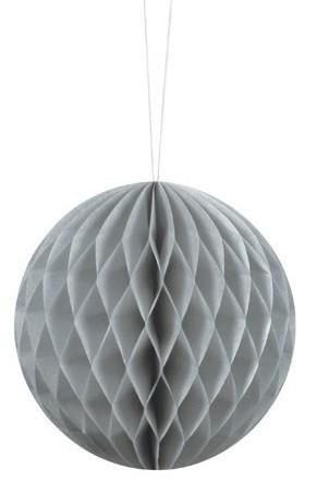Honeycomb ball Lumina gray 10cm