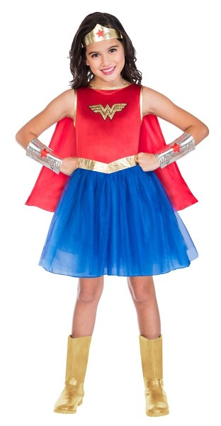 Costume Wonder Woman per bambina