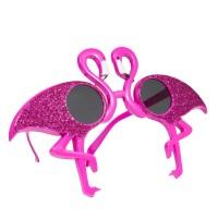 Pinke Party Flamingo Brille