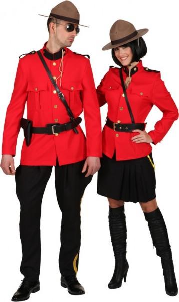Kanadische Ranger Uniform Herrenkostüm