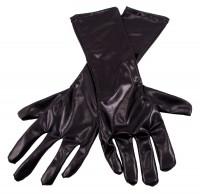 Handschuh in Metallic-Schwarz
