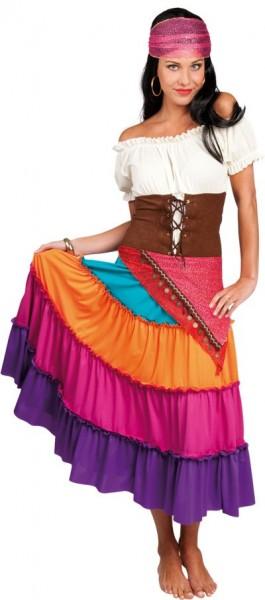Zlavia Zigeunerin Kostüm 1