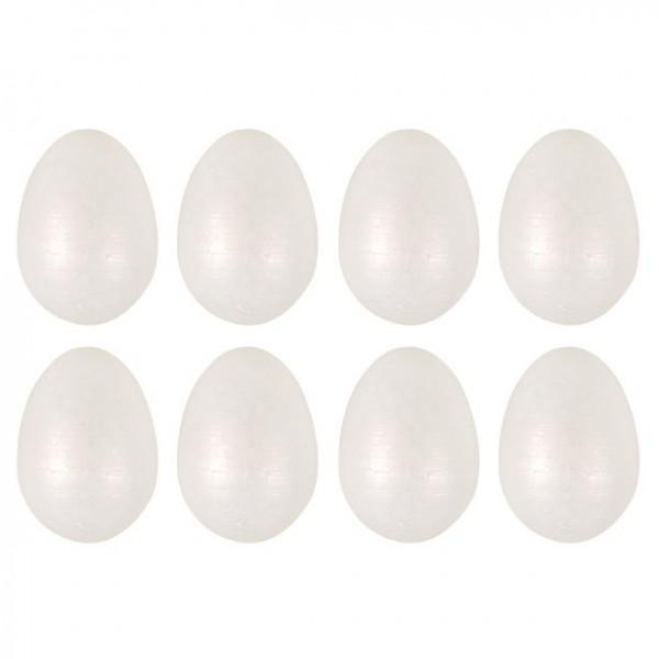 8 ozdobnych jajek 6,5cm