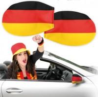 2 Deutschland Fan Autospiegel Überzüge