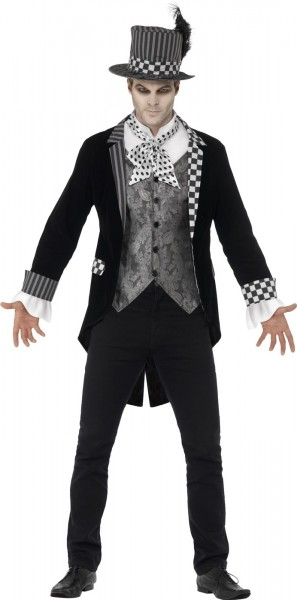 Scary hatter men's costume