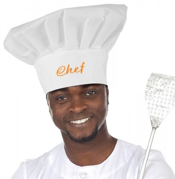 Küchenchef Koch Mütze