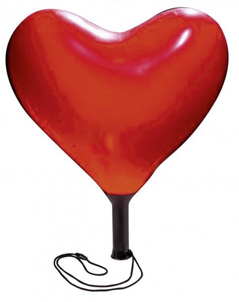 Ballon LED coeur romantique 23cm