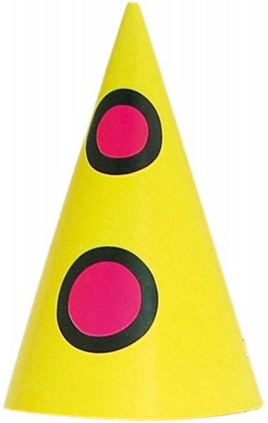 8 Party Hütchen Bumba der Clown