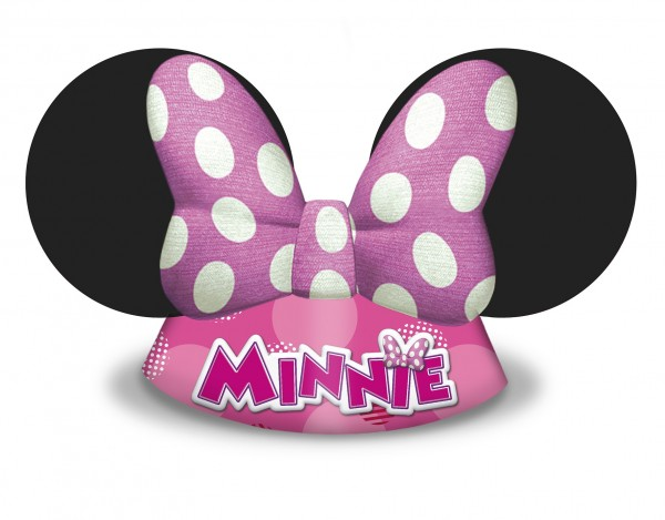 6 Minnie & Daisy party hats