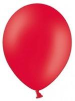 10 Partystar Luftballons rot 30cm