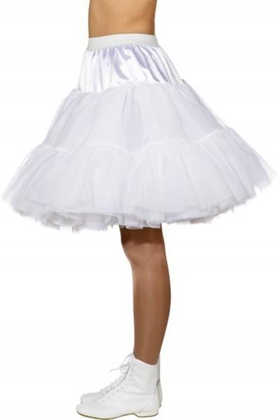 Jupon blanc Malou pour femme
