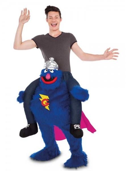 Huckepack Supergrobi Kostüm für Erwachsene