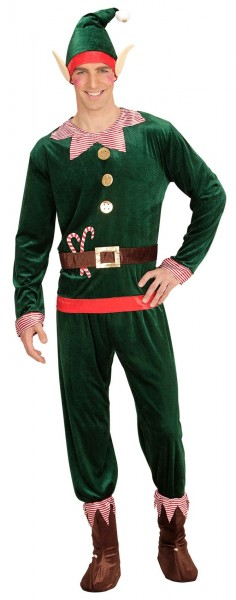 Christmas Elf Men's Costume Avery