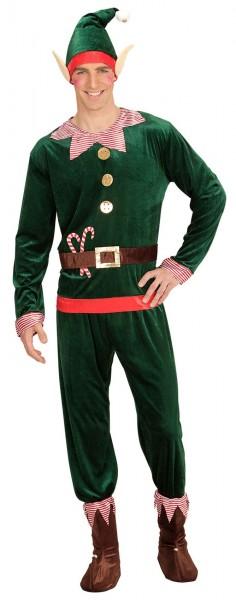 Disfraz de elfo navideño para hombre Avery
