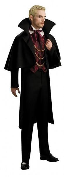 Costume d'Halloween vampire Baron Dracula homme
