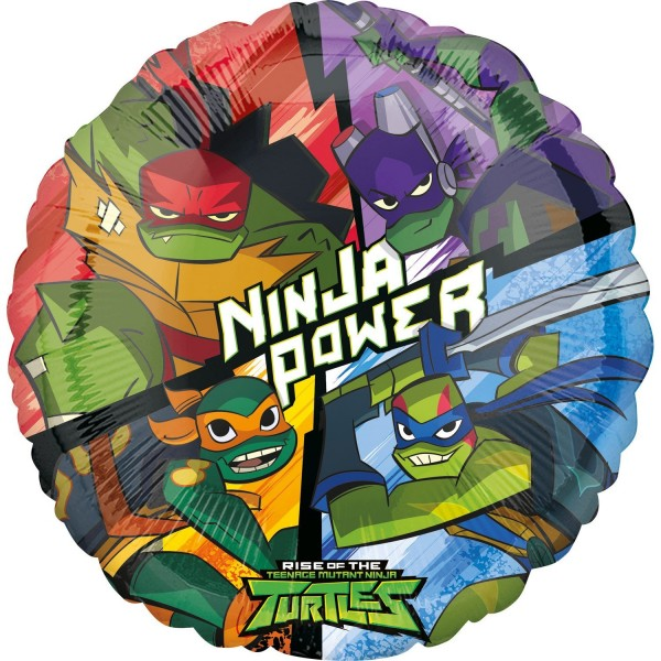 Ninja Turtles Adventure Folienballon 43cm