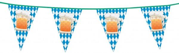 Bandierine birra Oktoberfest 6m