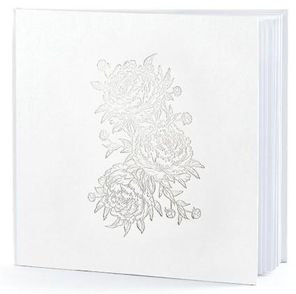 Pfingstrosen Gästebuch 20,5cm