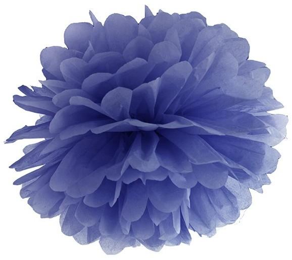 Pompon Romy dark blue 35cm