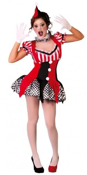 Harlekin Jokerlady Kostüm Für Damen
