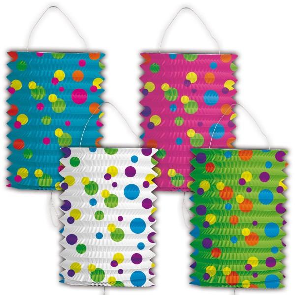 Lantern dots colored 16cm