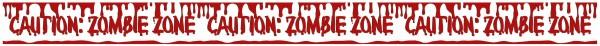 3 Zombie Town Klebebänder 9,10m