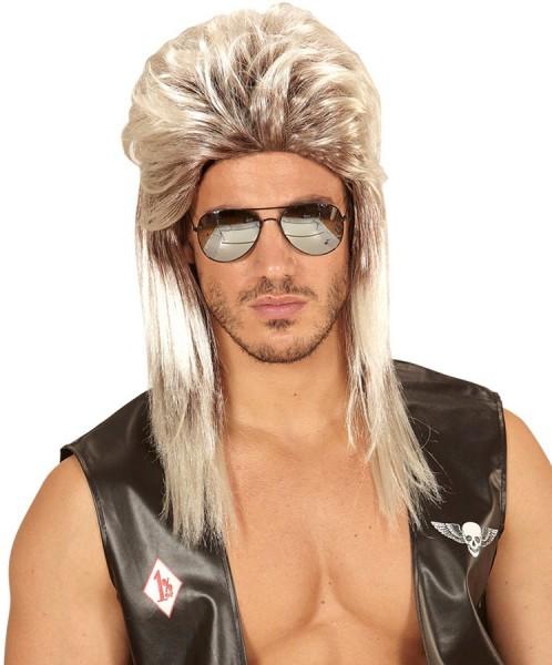 Perruque mulet blonde 4
