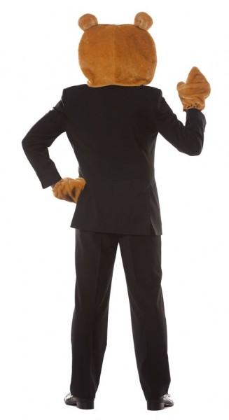 CooleTeddy Bär Maske und Hände